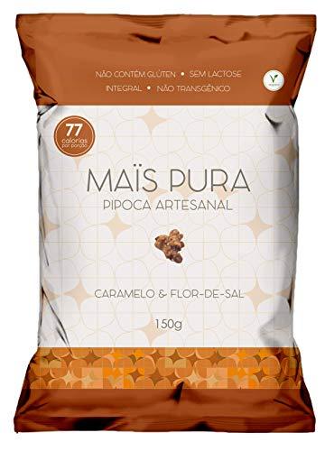 Pipoca Artesanal Sabor Caramelo e Flor de Sal Maïs Pura 150g
