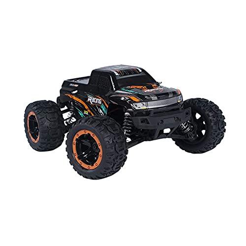 ykw 16889 1/16 2.4G 4WD 45 km/h Coche RC sin escobillas con luz LED Camión eléctrico Todoterreno Modelo RTR VS 9125 Naranja Tres baterías Regalo Creativo