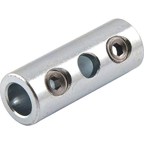 Stangenkupplung, Stahl verzinkt, 1 Stück   passend zu GEZE Oberlichtöffner OL 90 N / OL 95 für Fenster