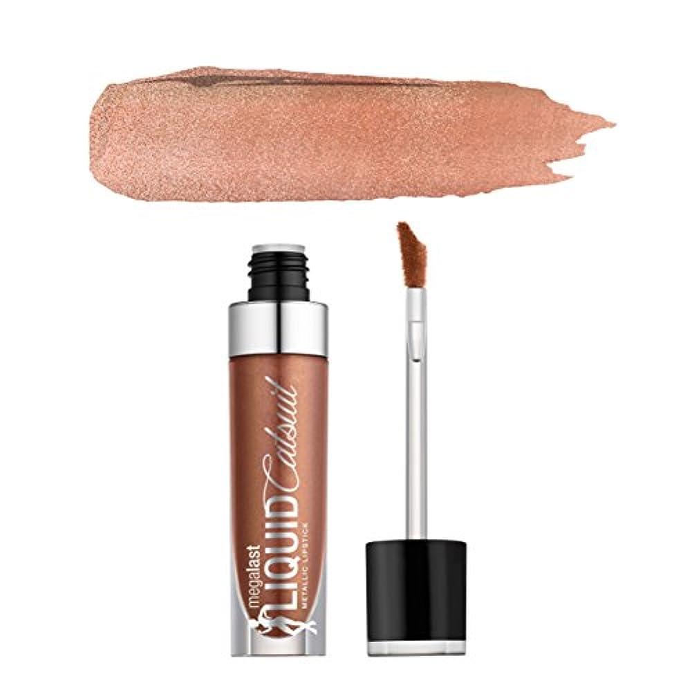上昇誘惑チューブ(3 Pack) WET N WILD Megalast Liquid Catsuit Metallic Lipstick - Satin Sheets (並行輸入品)