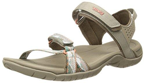 Teva Women's W Verra Sport Sandal, surf Taupe Multi, 7 M US