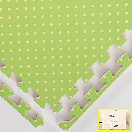 ZI Ling Shop- EVA Espuma Bebé Juego Mat Costura Alfombra de Arrastre Estera del Cabrito Animal montado Alfombra Puzzle Pad para Juegos de Niños 1 UNID (Color : C, Size : 30x30x1cm)