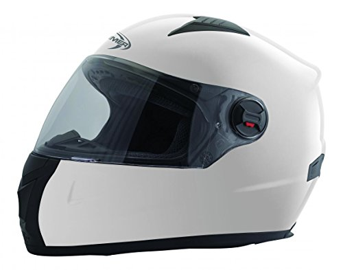 STORMER Casque Intégral Swift Taille Blanc, Taille L