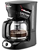 Mueller 12-Cup Drip Coffee Maker, Auto Keep Warm Function, Smart Anti-Drip System, with Durable...