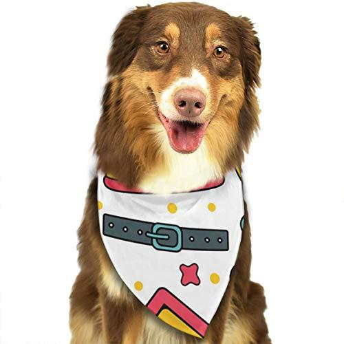 Pet Naadloze Patronen Achtergronden Voor Huisdier Winkel Gepersonaliseerde Hond Kat Bandana Driehoek Bibs Sjaal Huisdier Geschikt voor Kleine Tot Grote Hond Katten