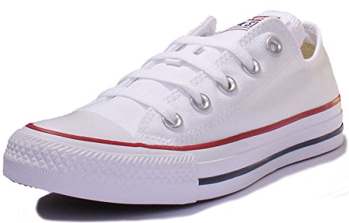 Converse All Star Chuck Taylor Zapatillas deportivas Unisex adulto, color Blanco, talla...