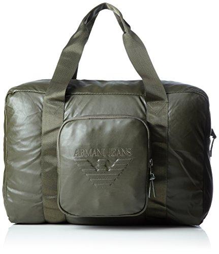 Armani Jeans - Borsone, Bolsos maletín Hombre, Grün (Verde), 31x22x47 cm (B...