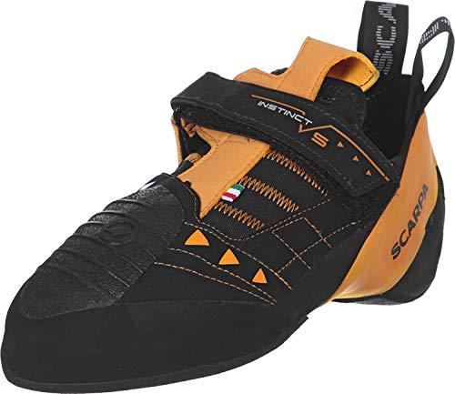 Scarpa Instinct VS, Zapatillas de Escalada Unisex Adulto, Black FV, 40 EU