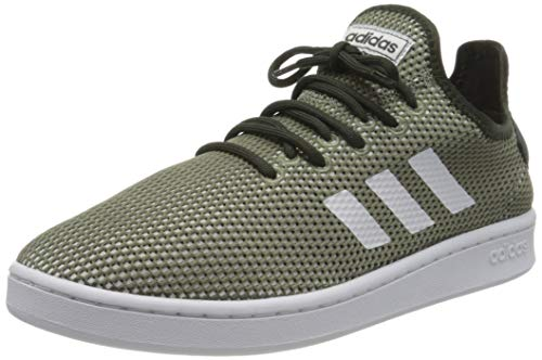 adidas Court Adapt, Zapatos de Tenis Hombre, Legacy Green/FTWR White/Legend Earth, 40 EU