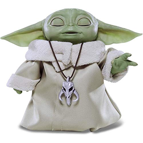 """Star Wars The Child Animatronic Edition """" Baby Yoda"""" with Over 25 Sound and Motion Combinations, The Mandalorian Toy for Kids Ages 4 and Up A"""