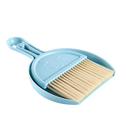 qianele Mini Dustpan And Brush Cleaning Set Table Desktop Counter Drawer Keyboard Car Sweep Cleaning Brush Small Broom Dustpan Set,Nordic Powder