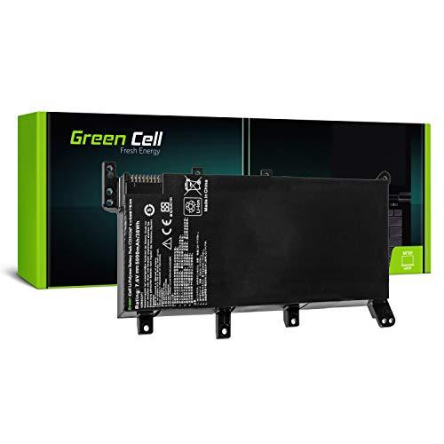 Green Cell® C21N1347 Batería para ASUS A555 A555L F555 F555L F555LD K555 K555L K555LD R556 R556L R556LD R556LJ X555 X555L Ordenador (4400mAh 7.6V Negro)