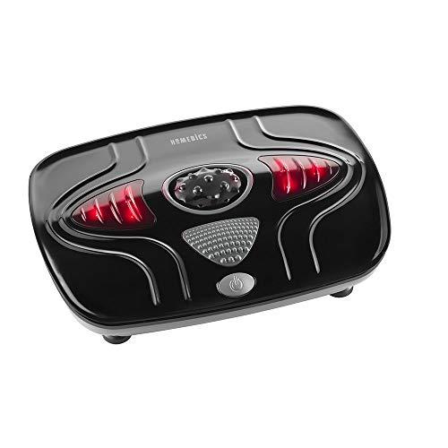 HoMedics Vibration Foot Massager - Portable Massage Machine with Heat