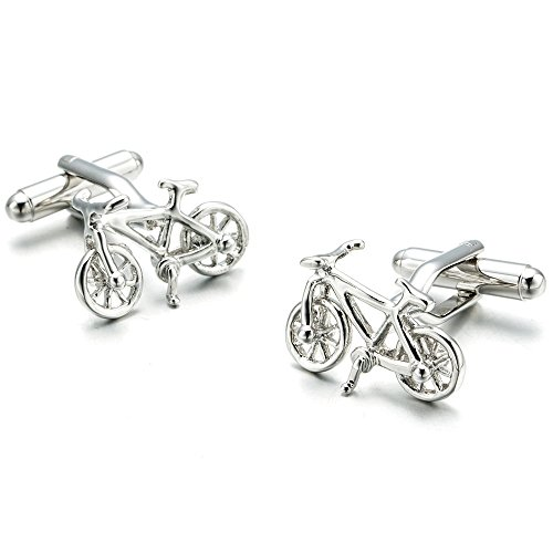 Topdo - 1 par de gemelos para bicicleta (2,8 x 1,4 cm)
