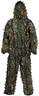 VIGAN Fashion 3D Leaf Camo Clothing Ghillie Suit Hunting Military Tactical Bionic Disguise Sniper Archery Uniform Camouflage Clothing