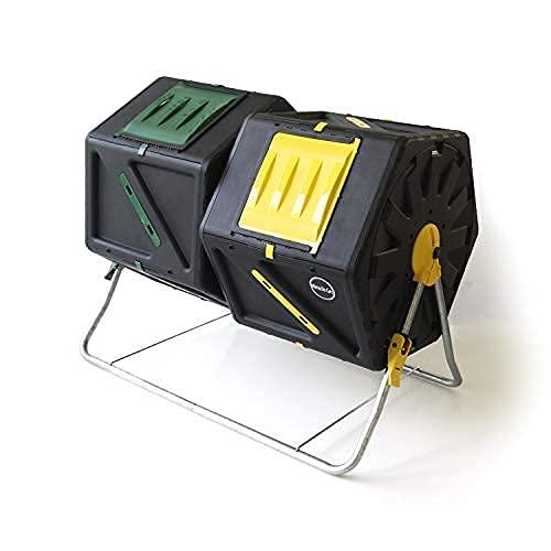 Miracle-Gro DFDC210 Dual 105 Liter 28 Gallon Bin...
