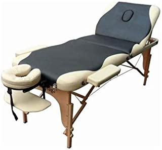 2 Pad Full Reiki Folding Portable Massage Table Facial Bed Spa