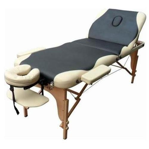 "Massage Table Massage Bed Spa Bed 73"" Long 27"" Wide PU Bed Facial Cradle Height Adjustable 3 Fold Portable Massage Table Bed w/Free Carry Case Salon Tattoo Bed"
