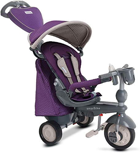 smarTrike Infinity Trike Baby Tricycle for 1 Year Old, Purple