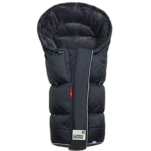 Odenwälder BabyNest Fußsack Keep Heat XL | 12462-180 | passend für alle Kinderwagen und Buggy | anthrazit