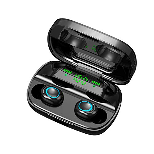 Lixada S11 Wireless BT 5.0 Earphones Ultra-Small Invisible Earphone Sports 3D Stereo Sound Large Capacity Headset