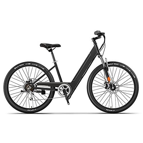 TGHY Bicicleta de Ciudad Eléctrica para Mujeres Adultas E-Bike de 26