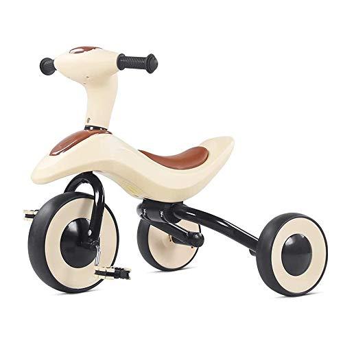 HYDDG Niños Triciclos para 2-3-5 años Antiguo Niños Triciclo 3 Ruedas Niñito Bicicleta Niños Muchachas Triciclos para Niñito Triciclos Bebé Bicicleta Triciclo Un Click Plegable