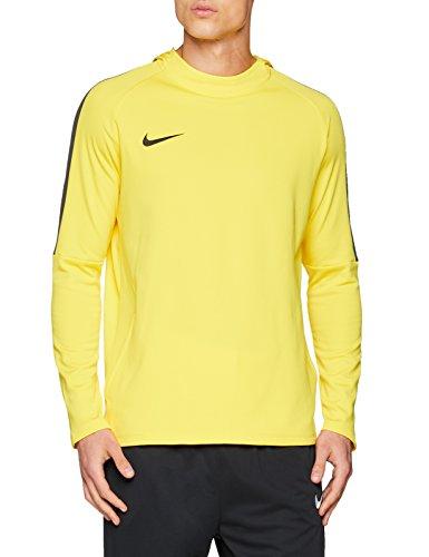 Nike Academy18 Hoodie Sudadera, Hombre, Amarillo (Tour Yellow/Anthracite/Black), XL
