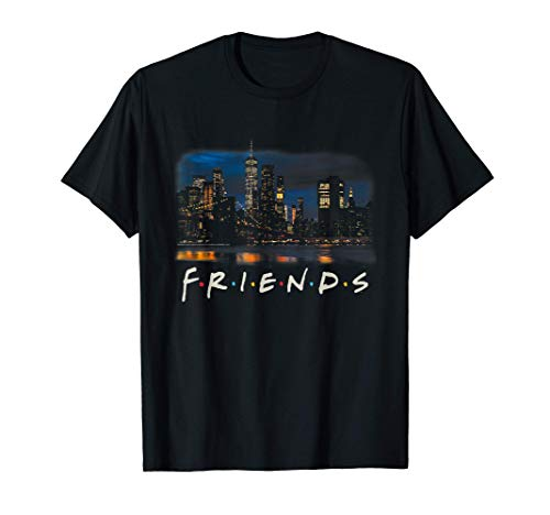 Friends New York Skyline Photo Camiseta