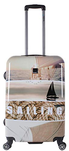 SX Blue Sailing - Maleta con Ruedas (60 cm, 4 W)