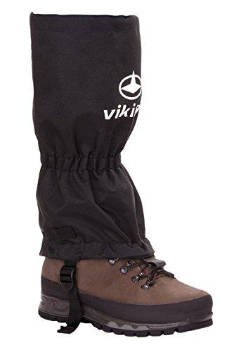 Viking gaiters guêtres étanche et respirant, coupe-vent, 3100 S/M Noir - Noir