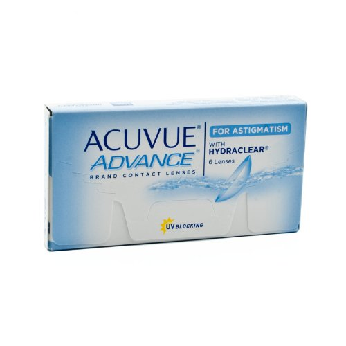 Johnson&Johnson Acuvue Advance for Astigmatism - 6er Box (-2.50-1.25 180), Kontaktlinsen