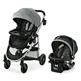 Graco Modes Bassinet Travel System | Includes Modes Bassinet Stroller and SnugRide SnugLock 35 Infant Car Seat, Carlee