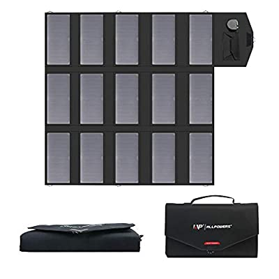 ALLPOWERS 60W 80W 100W Portable Solar Panel