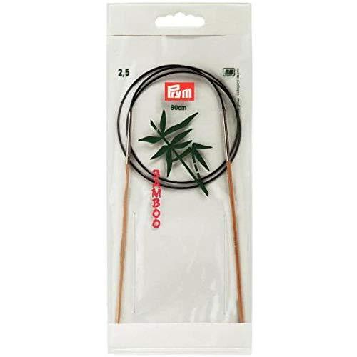 Prym Rundstricknadeln Bambus 024 80 cm 2,50 mm
