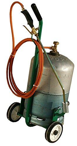 2EBALM 3760113030024 Polyflampro, Vert/Noir/Orange, 90x30x27 cm