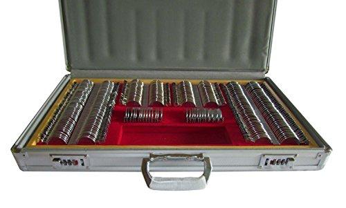 Proeflenzen Set Volledig diafragma met 266 Lens in Aluminium behuizing Compleet