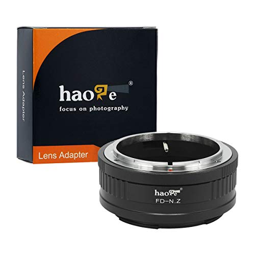 Haoge Manual Lens Mount Adapter for…