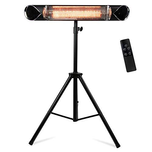 Briza Infrared Patio Heater - Electric Patio Heater - Outdoor Heater - Indoor/Outdoor Heater - Wall...