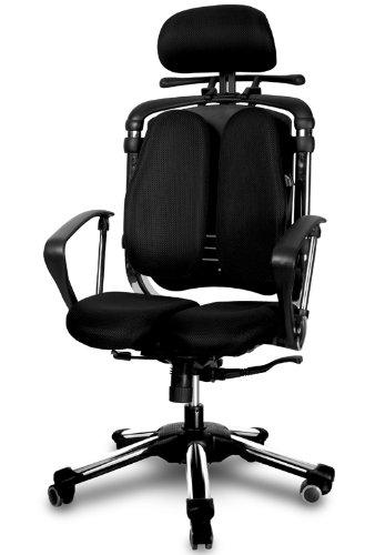 Hara Chair ハラチェア ニーチェ(ブラック)【ハンガー付】