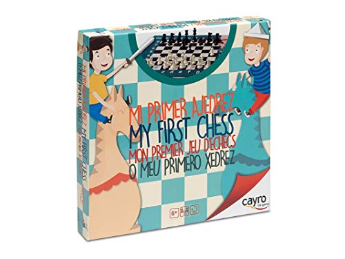 Cayro - Mi Primer ajedrez— Juego de observación y lógica - Juego Mesa Infantil - Desarrollo de Habilidades cognitivas e inteligencias múltiples - Juego Tradicional (169)