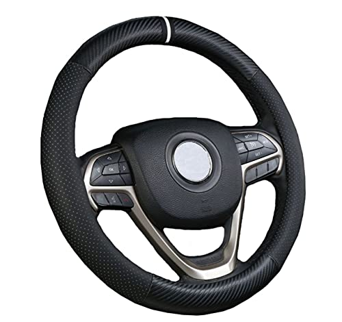 HOTM 15 inch Microfiber Leather Steering Wheel Cover Only $5.99 (Retail $29.95)