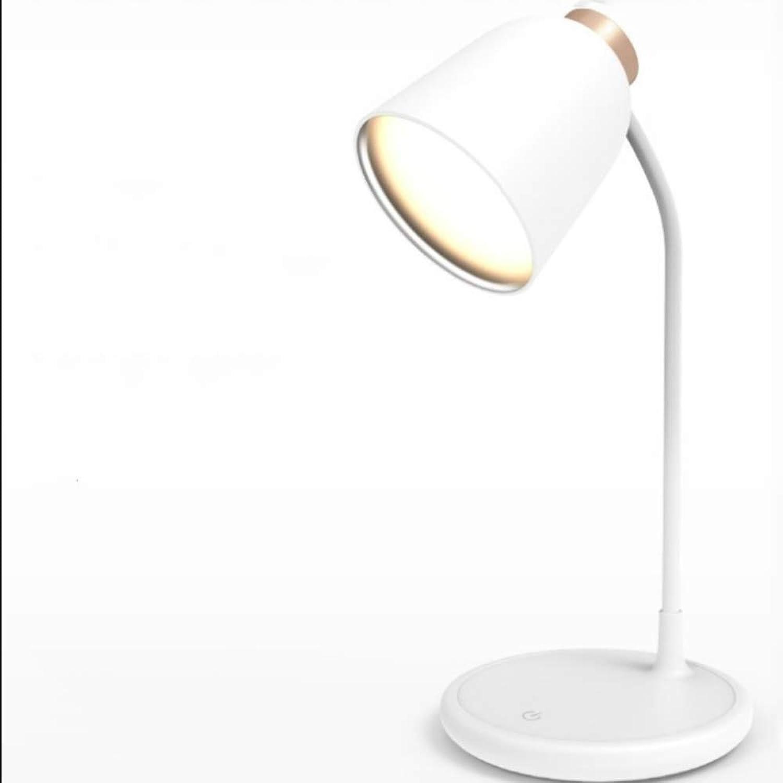 ERTO tischlampe Augenschutz Lesung LED Schreibtischlampe Silikon Lampe Lade Touch Bett USB Nachtlicht