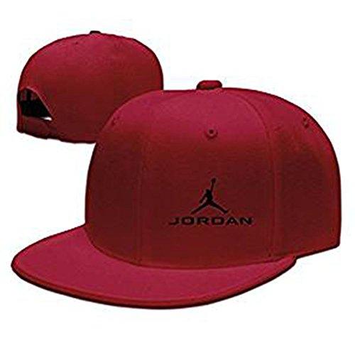 Hittings Jordan Famous baskrt Ball Palyer Baseball Cap Cool Hat Red