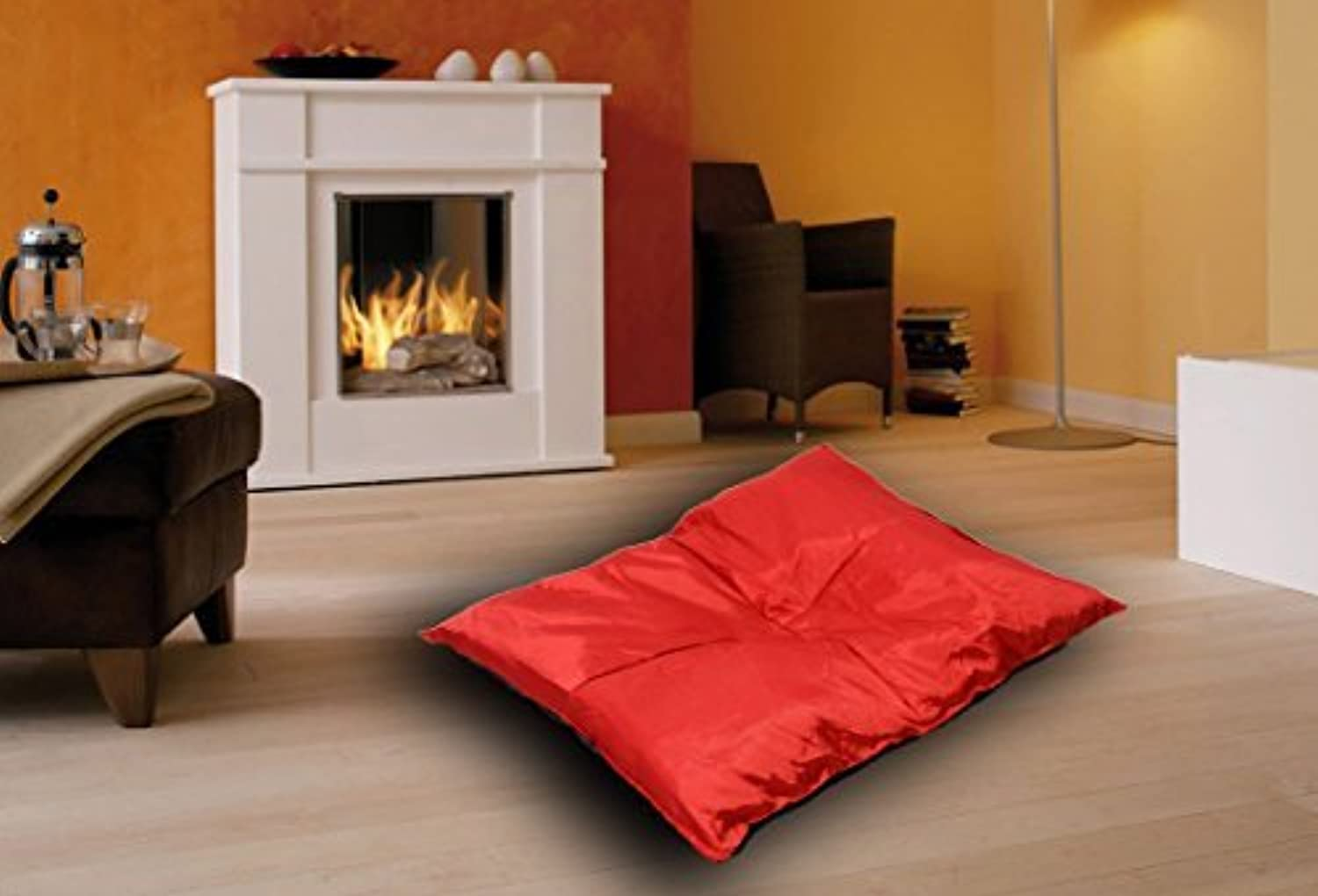 Best For Pets Orthopedic Dog Bed with TüV Quality KISS 7 Large Dog Pillow OrthoMEDIC VISCO CUSHION (XL84x65x4 cm, Red)