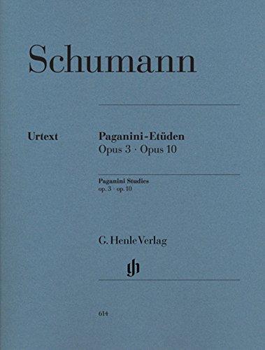 シューマン: パガニーニの奇想曲による6つの演奏会用練習曲 Op.3, 10/原典版/ヘンレ社/ピアノ・ソロ