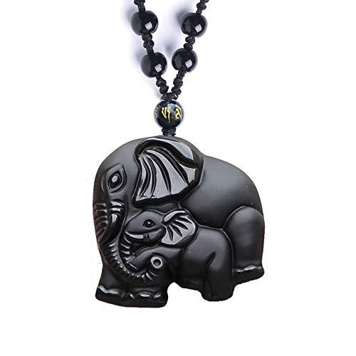 Dragon Obsidian Necklace