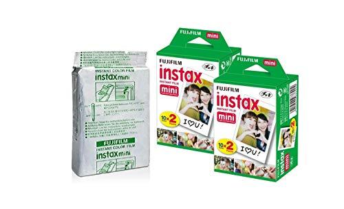 Fujifilm Instax Mini Instant Film, 10 Sheets×5 Pack(Total 50...