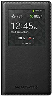 Smart S-View Flip Cover Case For Samsung Galaxy Note 3 With Sensor [duplus]