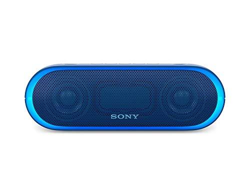 Sony XB20 Portable Wireless Speaker with Bluetooth, Blue (Renewed)